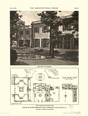 The Architectural Forum v29 (REVIVALthedigest) Tags: old house home architecture magazine drawing forum archive plan architectural architect stc draw residence stucco delano aldrich revival resd revivalthedigest