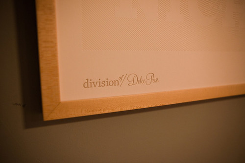 Divisionof/Dolce Press - Good Poster