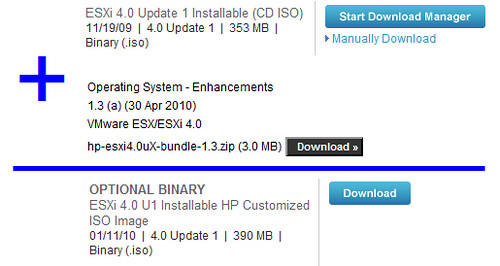 ESXi 4 x Installable HP Customized ISO Image DNA » boche net