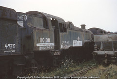 1977 - Overpainted 4MT Tank (Robert Gadsdon) Tags: wales geotagged rust br tank steam barry scrapyard standard 1977 4mt 80100 woodhams geo:lon=3278469 geo:lat=51397104