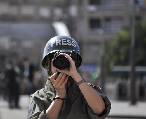Una corresponsal