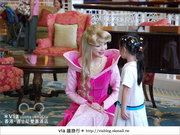 【香港住宿】跟著via玩香港(4)~迪士尼樂園酒店(外觀、房間篇)24