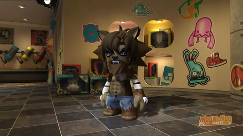 ModNation Racers - Wolfman
