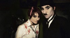 Halloween 2010 (Pablo Poulain) Tags: christmas eve white cinema halloween del movie this golden la is tim all charlotte zombie pablo like charles before cine balck rush nightmare liquid burton hallows chaplin oro poulain quimera fafa charlote