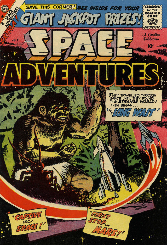 Space Adventures #29 (Charlton, 1959)