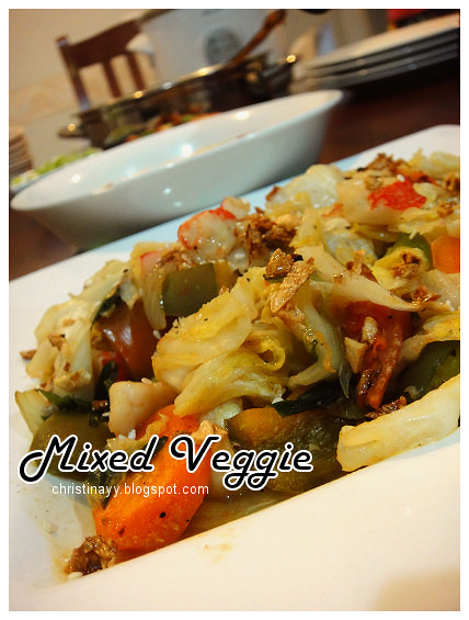 Potluck Dinner Monday: Mixed Veggie