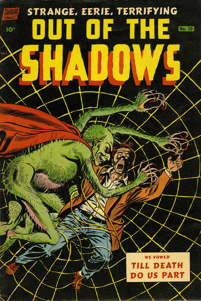 Out Of The Shadows #10 Mike Sekowsky Cover Art(Standard, 1953)