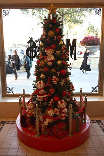 ダッフィーのクリスマスツリー