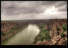 .Andhra.Grand.Canyon. (.krish.Tipirneni.) Tags: travel india tourism beautiful river cloudy fort valley ap gorge hdr penna krish telugu andhrapradesh kittu cuddapah pennar mylavaram kadapa gandikota