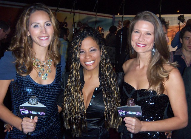 Cristina Nardozzi, Kwanza Jones, Tara Darby, Freedom Awards 2010