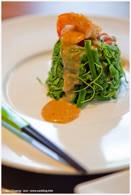 原燒 / 鮮蝦時菜沙拉