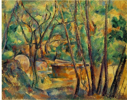Paul_Cezanne-_Well,_Millstone_and_Cistern_Under_Trees