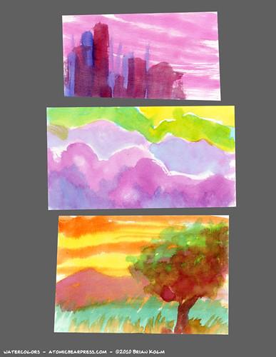 watercolors 11-11-10