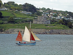 Number 37 Passing St Mawes Castle (Cornishcarolin. Just moved house!! BUSY!!! xxxxxx) Tags: cornwall falmouth frompendennispoint riverfalestuary stmawescastle yachts boats water 1001nights anestate acastlealmanac