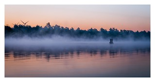 early morning fishermen