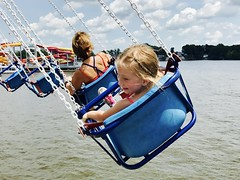 Just Swinging (RH Francis) Tags: indianabeach monticello indiana swings iphone7 iphoneography