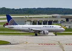 United Airlines Airbus A319-131 N845UA (MIDEXJET (Thank you for over 1 million views!)) Tags: milwaukee milwaukeewisconsin generalmitchellinternationalairport milwaukeemitchellinternationalairport kmke mke gmia unitedairlinesairbusa319131n845ua unitedairlines airbusa319131 airbusa319 airbus a319 n845ua