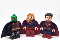 Supergirl (Barratosh#2) Tags: lego martian manhunter supergirl superman karael kalel minifigure dctv dc comics cw