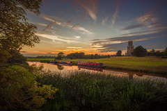 Mary, don't lose your head (unciepaul) Tags: fotheringhay church village history sunset riverside bridge castle summer warm water colours gentle soft colour northamptonshire
