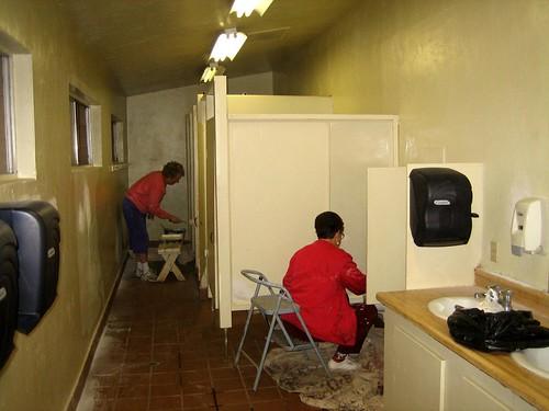 Bathroom Painting
