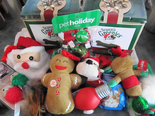 christmas presents for the dogs and cats