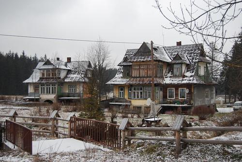 Maisons à Zakopane