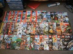 10 Years of LEGO Club Magazine!