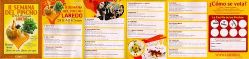 II Semana Del Pincho Brochure