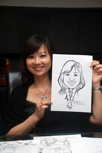 Caricature live sketching for Johnson & Johnson - 15