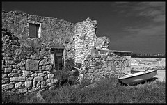 Once, there was a house (PILANA) Tags: croatia oldhouse kraj paman