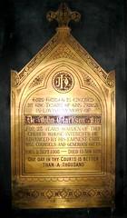 Plaque dedicated to John Clarkson Jay in Christ Church, Rye (Jay Heritage Center) Tags: park christchurch usa ny heritage history church america jay unitedstates state union 19thcentury landmark hi