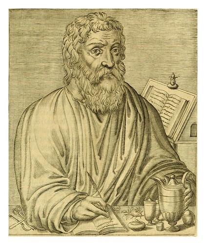 009-Hipocrates-Les vrais pourtraits et vies des hommes illustres grecz, latins et payens 1584-André Thevet