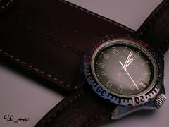 Boctok Komandirskie 3AKA3: leather case (1) (FLO_mac ) Tags: vostok boctok wostok komandirskie 3aka3