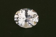 "Large Cape May ""Diamond"" Quartz Oval (Peter Torraca) Tags: nj capemay quartz brilliant oval gem gemstone"