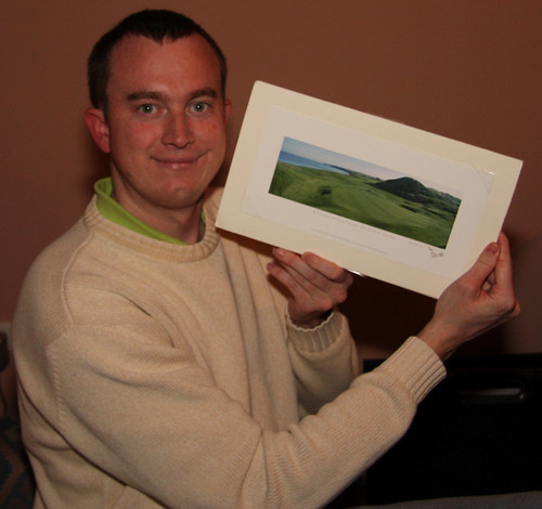 An Irish Golf Hole Photograph
