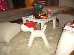 P1010544 (Veganka) Tags: christmas puppy marimekko eero magis aarnio