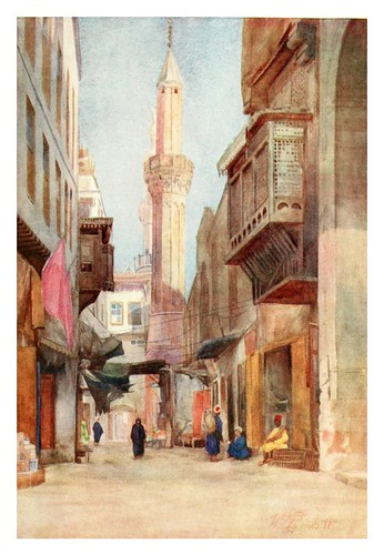 005-Sharia-El-Azhar en el Cairo-Cairo, Jerusalem, and Damascus..1907- Margoliouth D. S.