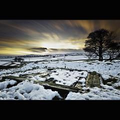 Eldon | Shaft (Reed Ingram Weir) Tags: old longexposure sunset snow nikon buxton near derbyshire ne hills explore mineshaft lead frontpage eldon peakdisctrict d700 reedingramweir