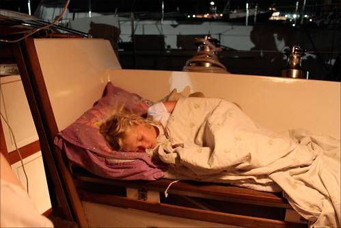 En træt Helena på Naveren