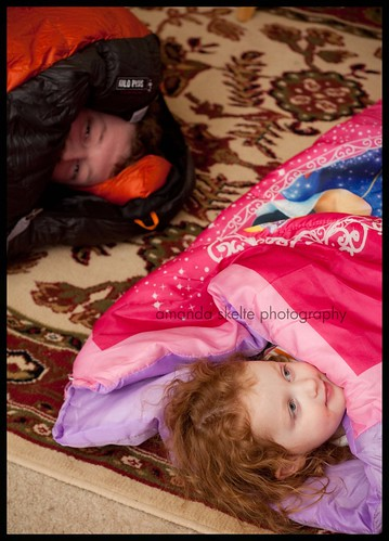 daddy daughter sleeping bags