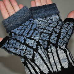 Winter Midnight Mitts