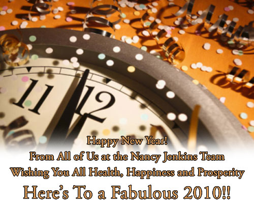 Happy New Year from the Nancy Jenkins Team!