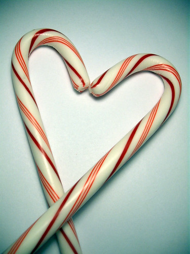 If candy canes fell in love