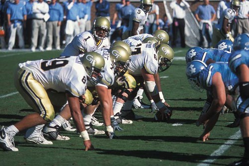 UNC at Georgia Tech football