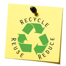 Reduce, Reuse, Recycle