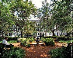 Celebration FL takes its cue from a place that works, Savannah (by: Robert Benson Photography via the Smart Growth Manual)