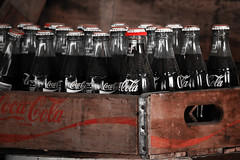 Coke Bottles, Only Red