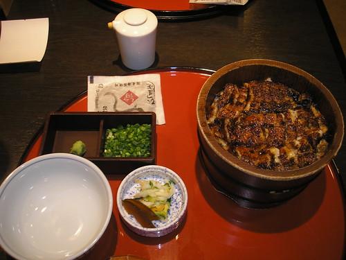 Hitsumabushi at Shirakawa, Sakae, Nagoya