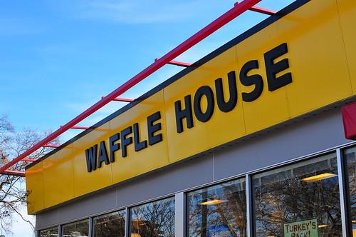 WAFFLE HOUSE FACADE