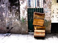 Locked crates
